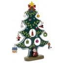 Karácsonyfa alakú dekoráció