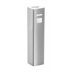 """""""Thazer"""" USB power bank , ezüst"""