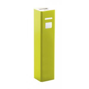 """Thazer"" USB power bank , sárga"