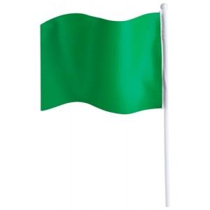 """""""Rolof"""" zászló , zöld"""