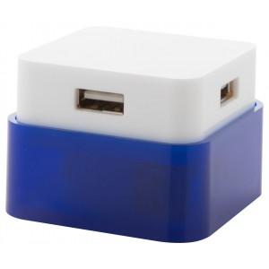 """""""Dix"""" USB elosztó , kék"""