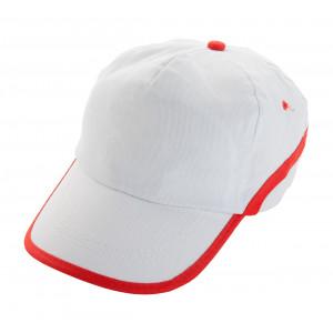 """Line"" baseball sapka ,fehér-piros"