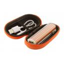 """""""Tradak"""" USB power bank , narancssárga"""
