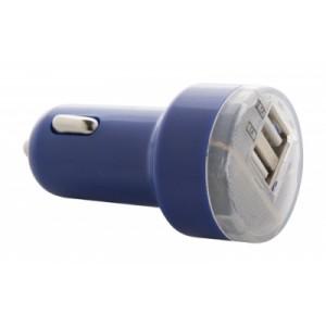 """""""Denom"""" USB autós töltő , kék"""