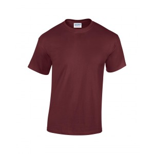 GILDAN® HEAVY COTTON kereknyakú póló  185gr, maroon,