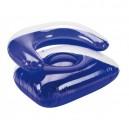 Felfújható fotel, nagy, kék