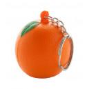 """""""Fruty"""" antistressz kulcstartó , narancs"""