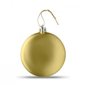 LIA BALL Lapos karácsonyfadísz, arany