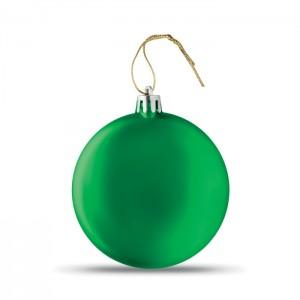 LIA BALL Lapos karácsonyfadísz, zöld