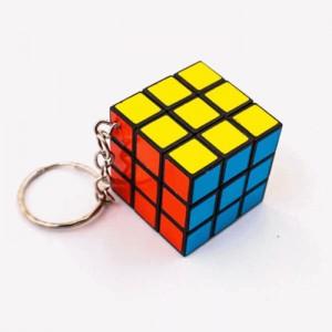 Rubik kocka kulcstartóval
