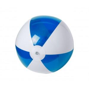 Zeusty strandlabda , kék-fehér
