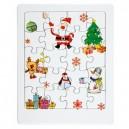 karácsonyi puzzle kirakó