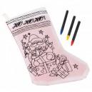 karácsonyi zokni