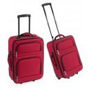 Versity gurulós bőrönd , piros