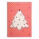 TreeCard karácsonyi üdvözlőlap, karácsonyfa