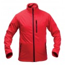 Molter soft shell kabát , piros