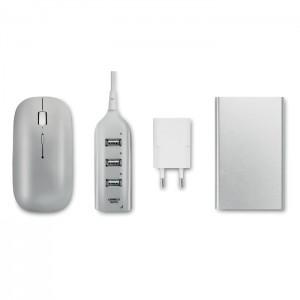 POWERSET Számítógépes kiegészítők, fehér