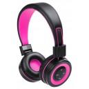 Tresor fejhallgató , pink