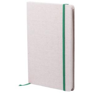 Telmak jegyzetfüzet , zöld