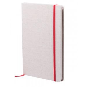Telmak jegyzetfüzet , piros