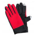 Vanzox érintőképernyős sport kesztyű, piros