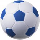 Focilabda formájú stresszlabda, fehér-kék