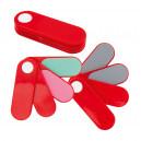 Fucsox körömreszelő szett , piros