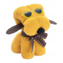 Rustuff törölköző , sárga