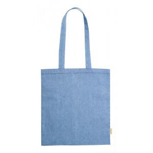 Graket pamut bevásárlótáska , kék