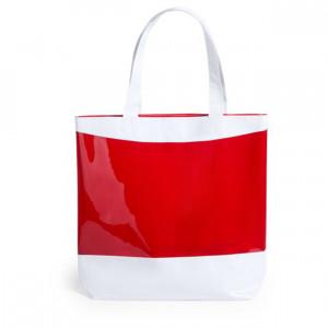 Rastek bevásárlótáska , piros