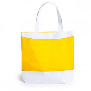 Rastek bevásárlótáska , sárga