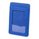 Besing kártyatartó , kék
