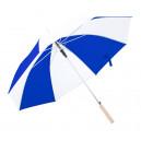 Korlet esernyő , kék-fehér