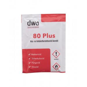 DWA 80 Plus fertőtlenítő kendő - 1db