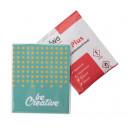 CreaWipe One fertőtlenítő kendő papírkártyával - 1db