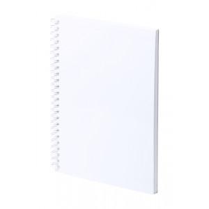 Polax antibakteriális jegyzetfüzet , fehér