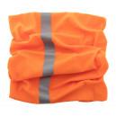 Reflex fényvisszaverő multifunkciós körsál , narancssárga