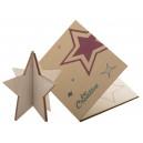 Creax Eco üdvözlőlap, csillag