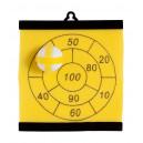 Aracno darts tábla , sárga