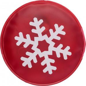 Melegítőpárna hópihe dekorációval
