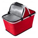 Yonner piknik kosár , piros