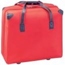 Hank gurulós táska, Piros
