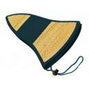 Caribbean gyékény kalap, Fekete