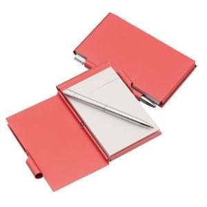 Serim  jegyzettömb tollal, piros