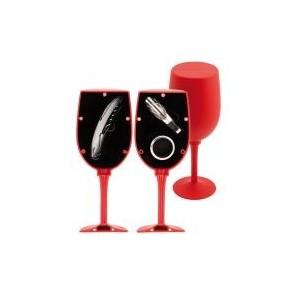 """""""Ludus"""" boros szett , piros"""