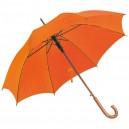 Favázas automata esernyő, narancssárga