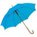 Favázas automata esernyő, világoskék