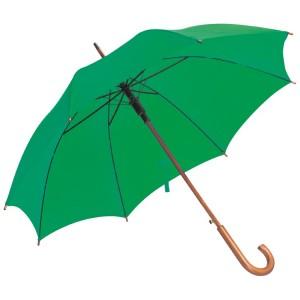Favázas automata esernyő, középzöld