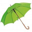Favázas automata esernyő, almazöld