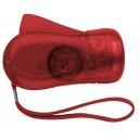 H-Power dinamós elemlámpa, piros